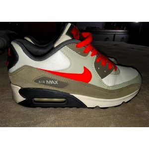 Nike Air Max 90 Olive Red Grey White Black